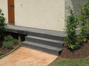 Création terrasse