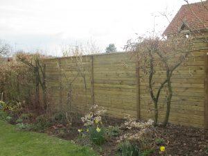 Création clôture