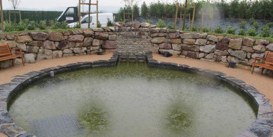 Création plan d'eau